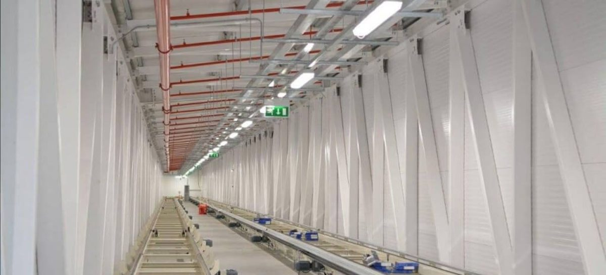Fitout Of Automatic Transport Tunnel